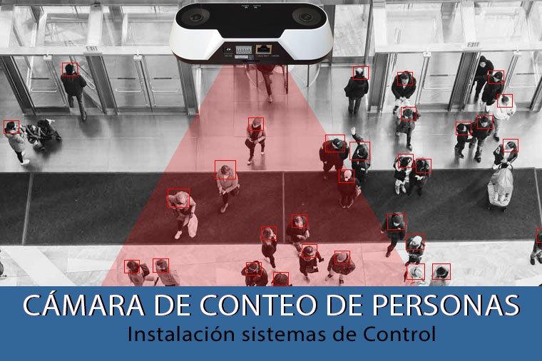 electricista instalacion de camara control de aforo para prevenir contagio coronavirus en madrid